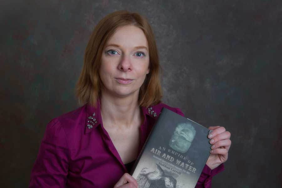 Fantasy author-academic Siobhan Carroll